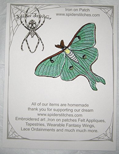 sage-green-luna-moth-iron-on-patch-sew-on-applique