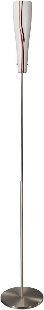 Eseo Floor lamp E14, Multicolour, Glass, IP20, II, Bedroom, Living room floor lighting