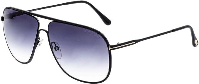 Tom Ford FT0451 C60 02B (matte black / gradient smoke) Sonnenbrillen ORlElJU