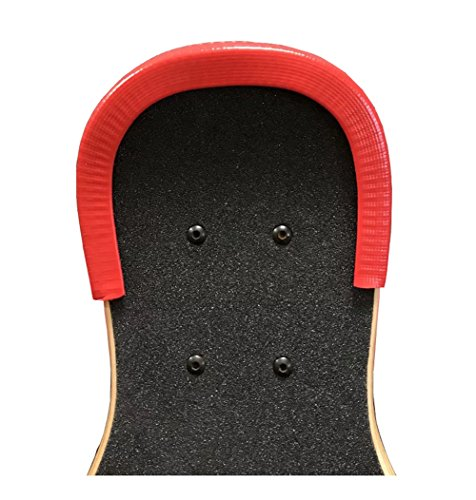 Nose Bumper (Skateboard bumper Skateboard Deck Guards Protector Edge Protection Durable Shock Absorbing Rubber #5)