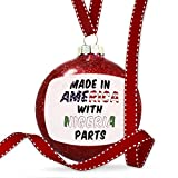 Christmas Decoration Made in America with Parts from Nigeria Ornament