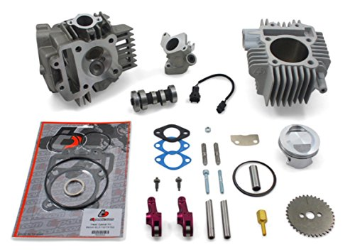 Kawasaki Z125 Pro 143CC Big Bore Kit V2 Race Head & Manifold New !!