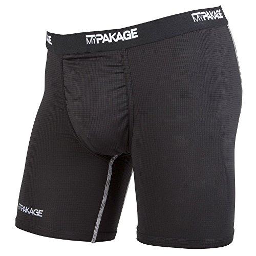 MyPakage Men's Pro Series Bottom, Black/White, Large
