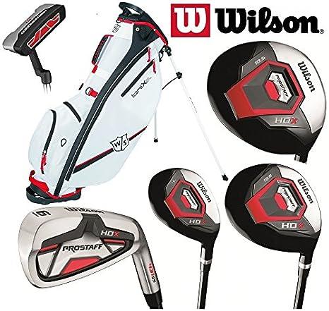 Wilson Prostaff HDX - Juego completo de palos de golf de ...