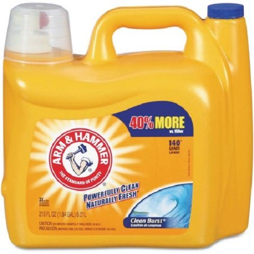 arm-hammer-3320000106-210oz-dual-he-clean-burst-liquid-laundry-detergent-pack-of-2