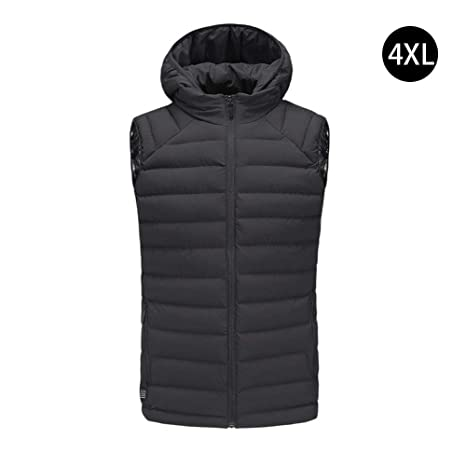 Heating Clothes Amazon Com >> Amazon Com Weemoment Electric Heated Vest Jacket Usb Battery
