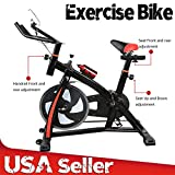 SOURBAN Stationary Exercise Bicycle Cycling Cardio Health Workout Fitness Indoor Bike