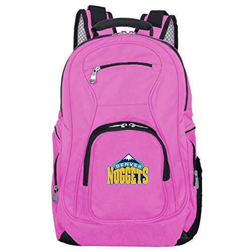 (NBA Denver Nuggets Voyager Laptop Backpack, 19-inches,)