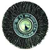 2'' Diameter-1/4'' Shank-0.014'' Wire - Cup Brush, (Pack of 5)
