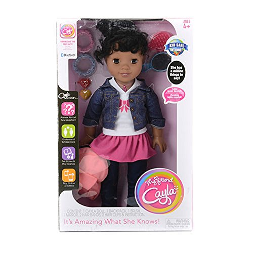 My Friend Cayla Back To School Doll - Hispanic-