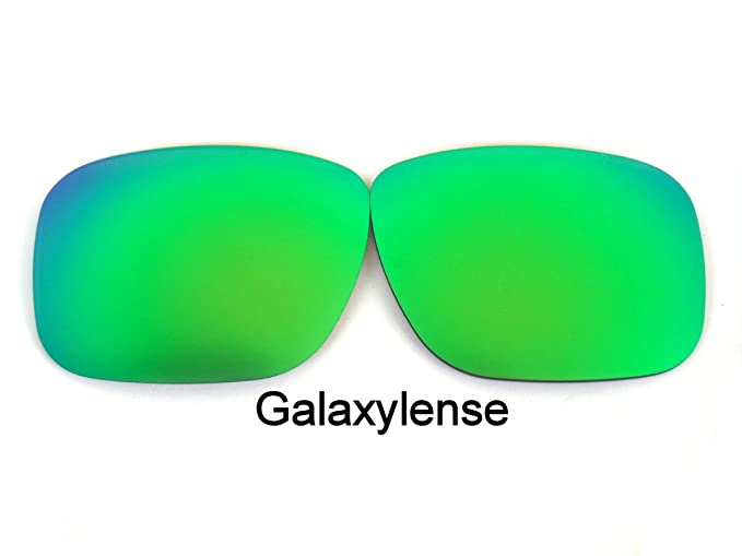 e17a7ecfef Amazon.com  Galaxy Replacement Lenses For Oakley Mainlink Sunglasses  Polarized Green  Clothing