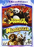 Kung Fu Panda + Madagascar (Import Movie) (European Format - Zone 2) (2010) Varios