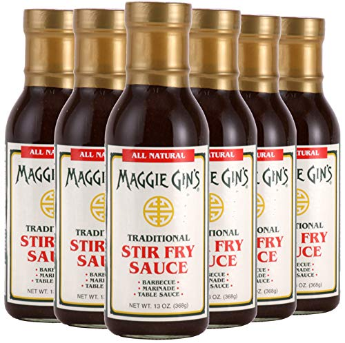 Maggie Gin 35107 Traditional Stir Fry Sauce - Pack of 6