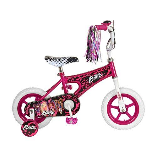 Bratz Kid's Bike, 12 inch Wheels, 8 inch Frame, Girl's Bike, Pink -  Cycle Force Group, LT1201-1-JV