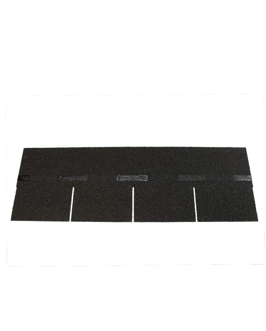 Bitumen-DachschindelnRechteck schwarz