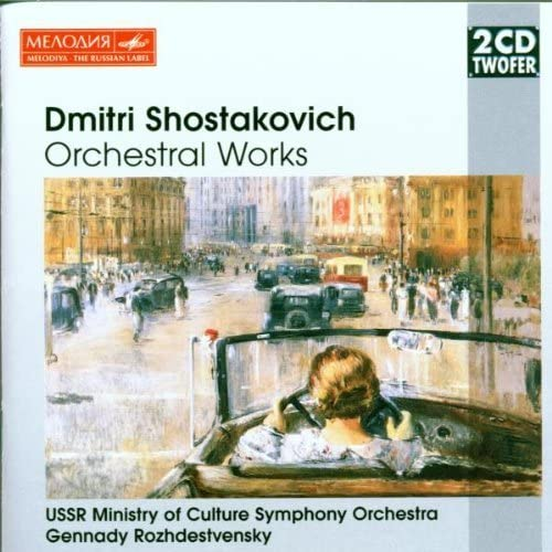 Shostakovich: Orchestral Works by Dmitry Shostakovich: Dmitry ...