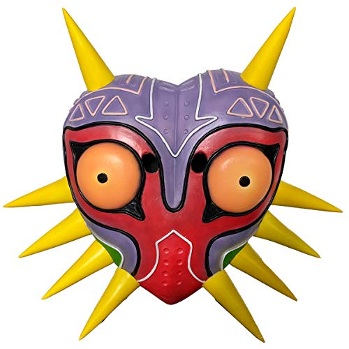Majora's Mask Colorful Latex Mask Cosplay Costume Accessory ()
