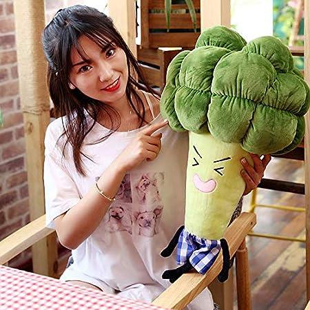 Cutogain Linda Almohada Multifuncional Vegetales br/ócoli Felpa Suave y c/ómoda Almohadas