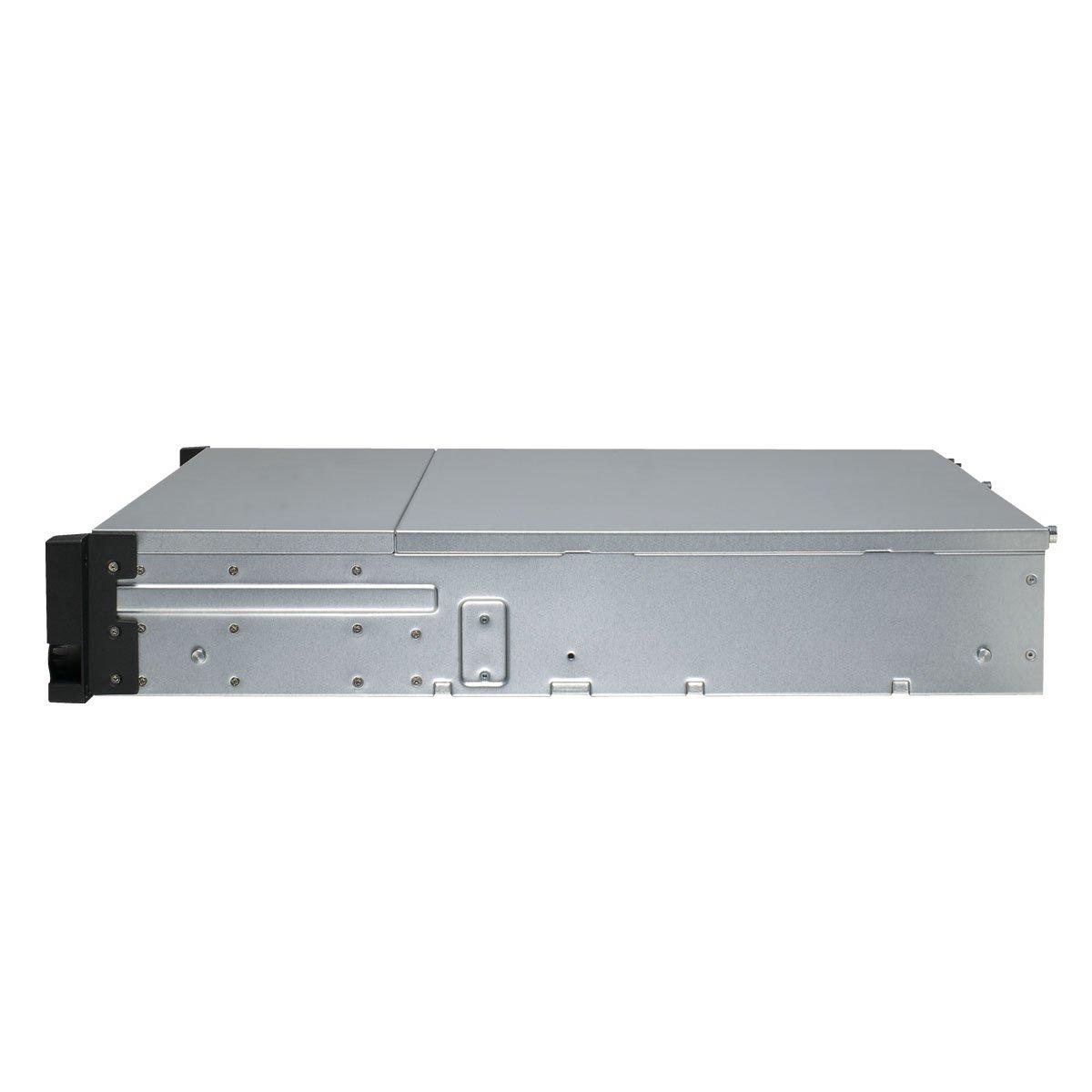 QNAP TS-1253U-RP 12-bay 2U iSCSI NAS, Intel 2.0GHz Quad Core CPU with 4GB RAM, 2.5''/3.5'' SATA 6Gb/s, Hot-swappable, Redundant PSU by QNAP (Image #3)