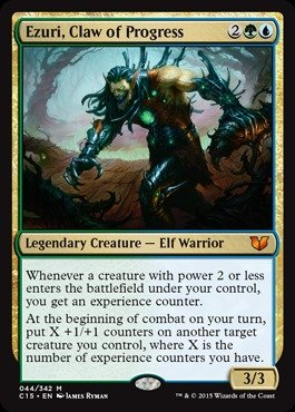Magic: the Gathering - Ezuri, Claw of Progress - Commander (Card Claw)