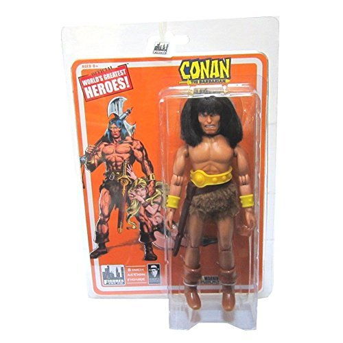 Conan the Barbarian World's Greatest Heroes Retro 8-Inch Action Figure by Figures Toy Company
