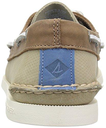 Mesh Sport 7 Top sider da Seas basse donna Sneakers beige crema Sperry wnXaSq4X