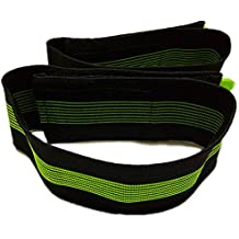 1pair Bike Bicycle Reflective Velcro Ankle Leg Bind Pant Bands Clip Strap Outdoor