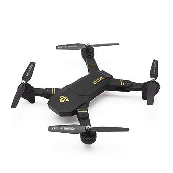Laurelmartina VISUO XS809HW 2.4G Plegable FPV Selfie Drone RC ...