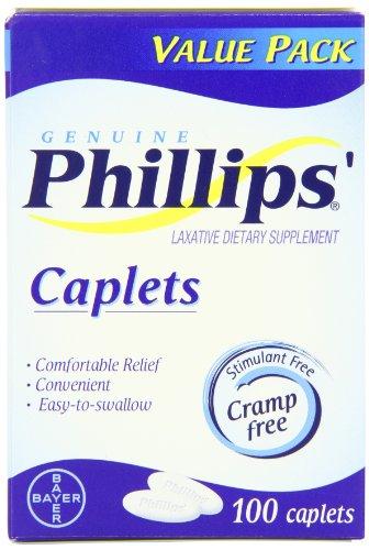 Laxatifs Caplets 100 comte de Phillips