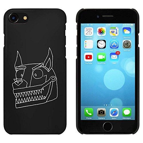 Noir 'Chien de Robot' étui / housse pour iPhone 7 (MC00074183)