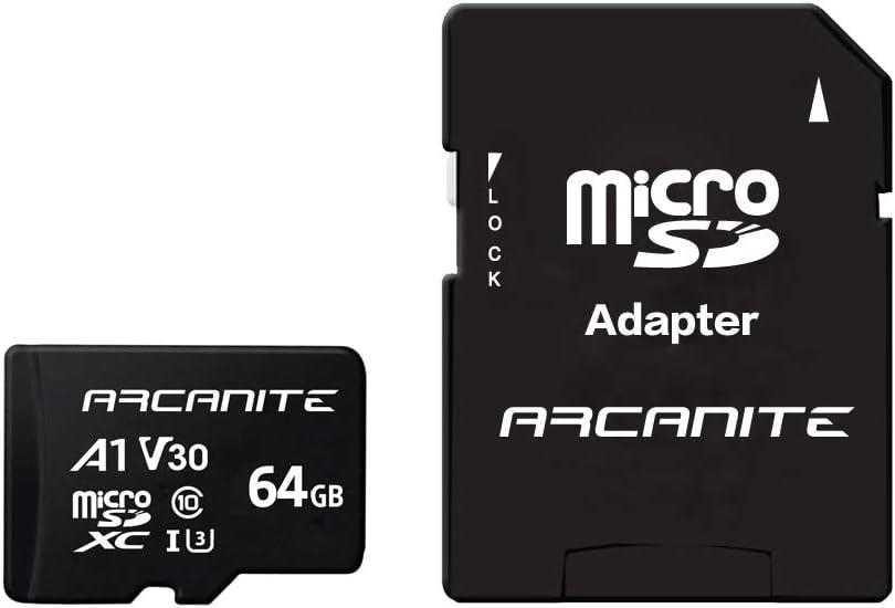 Arcanite 64 Gb Microsdxc Speicherkarte Mit Adapter Computer Zubehör