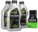 2012 Kawsaki NINJA 650 Full Synthetic Oil Change Kit