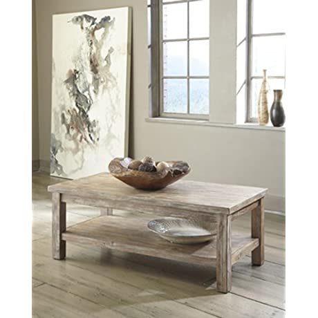 Ashley Furniture T500 301 Rustic Accents Rectangular Cocktail Table By Ashley Furniture