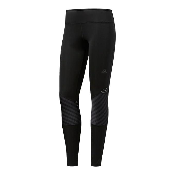 Black adidas Womens Supernova Running Gym Tight Long Sports Training Leggings