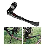 Foxnovo MTB Road Bike Kickstands Aluminum Alloy Kick Stand (Black)