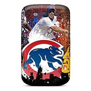 Anti-scratch And Shatterproof Chicago Bears Phone Case For Galaxy S3/ High Quality Tpu Case