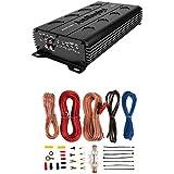 Audiopipe APMI-1300 1000W Mono Amp 1 Ohm Stable Car Audio Amplifier + Wiring Kit