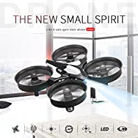 Hanbaili H36 mini Drone with Headless Mode for Kids, 360 Degree Roll Rotation One-key Return Easy Control and Safty,Best Flying Toys For Your Children