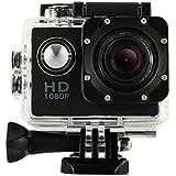 1080P Action Sports Camera -Self Timer,Tuscom Waterproof ( 30 Meters Under Water) Action Camera (1.5 Inch Ultra HD Screen)Camcorder HD 1080P Mini DV Cam (Black)