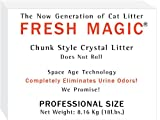 Fresh Magic Chunk Style 18 Lb Box (FOR AUTOMATIC LITTERBOX use ROUND Style) $1.99 Lb, My Pet Supplies