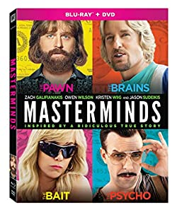 Cover Image for 'Masterminds [Blu-ray + DVD]'