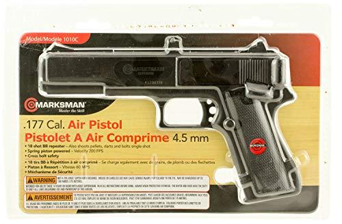 Marksman Air Pistol Double .177 BB Black