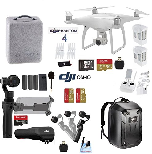 Professional-Photographer-Videographer-Includes-DJI-Phantom-4-DJI-OSMO-4K-Starter-Kit