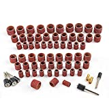 Coceca 458pcs Sanding Drums for Drum Sander,Kit