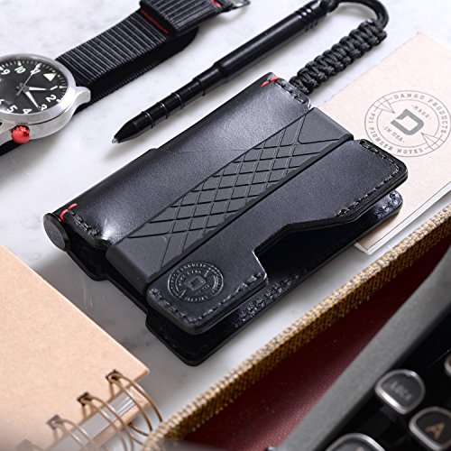 Pen RFID Jet 48 Notebook and Pioneer Pen Black Space Made Page USA Blocking Tanned Jet Veg Wallet EDC Dango in CNC Ink Leather Black Italian ZcUyWva