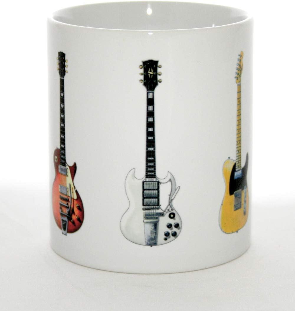 Una taza de guitarra. Las cinco famosas ilustraciones de la ...