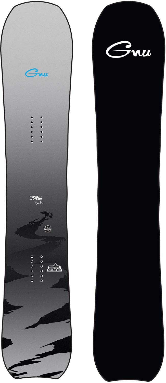Gnu Hyper Kyarve スノーボード メンズ  160cm