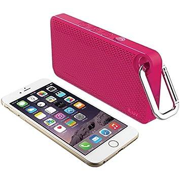 speakers pink. iluv aud mini 6 portable bluetooth speakers (pink) pink