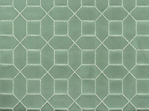 10 Yard Lot Discount Fabric Richloom Upholstery Drapery Linen Hyde Mint Jacquard NN41