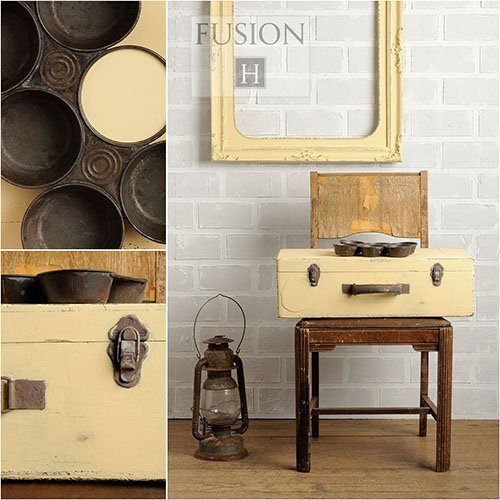 Fusion Mineral Paint 500 ml Buttermilk Cream - Fusion Dining Collection